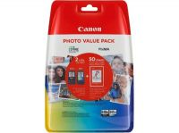 Kartuša Canon PG-540XL/CL-541XL komplet - original + PHOTO PAPIR