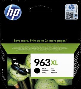 Kartuša HP 963XL črna/black (3JA30AE) - original