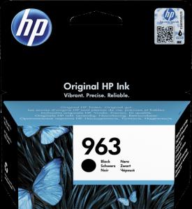 Kartuša HP 963 črna/black (3JA26AE) - original