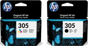 Kartuša HP 305 črna/black + HP 305 barvna/color komplet - original MEGA CENA!