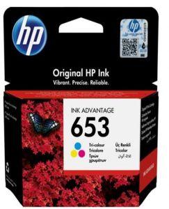 Kartuša HP 653 ( 3YM74AE) barvna/color - original