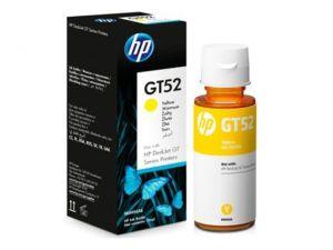 Kartuša HP GT52 rumena/yellow steklenička original