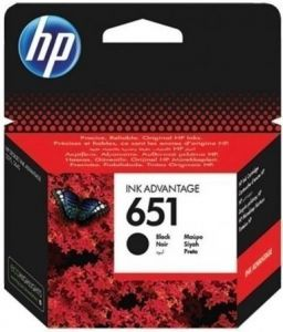 Kartuša HP 651 črna/black (C2P10AE) original