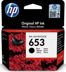 Kartuša HP 653 (3YM75AE) črna/black - original