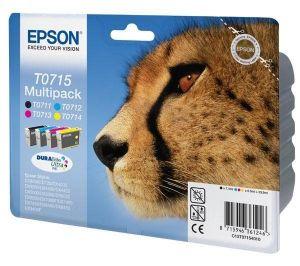 Kartuša Epson T0715 (komplet) - original