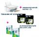 Tiskalnik HP DeskJet 2320 barvni  + dodatne kartuše in papir!